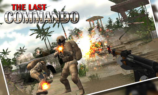 突击队 死亡 射手 炮手: Commando Shooter