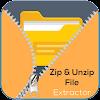Zip File Extractor - File Compressor, Unzip, Unrar
