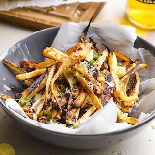 Parmesan Garlic Parsnip Fries