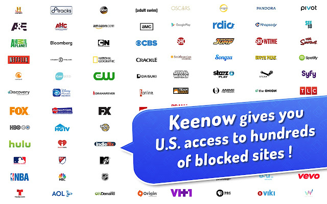 Keenow - Free Smart DNS - Faster than a VPN