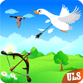 Real Duck Archery 2D Bird Hunting Shooting Game