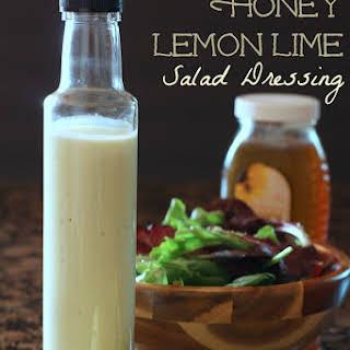 Creamy Honey Lime Dressing Recipes.
