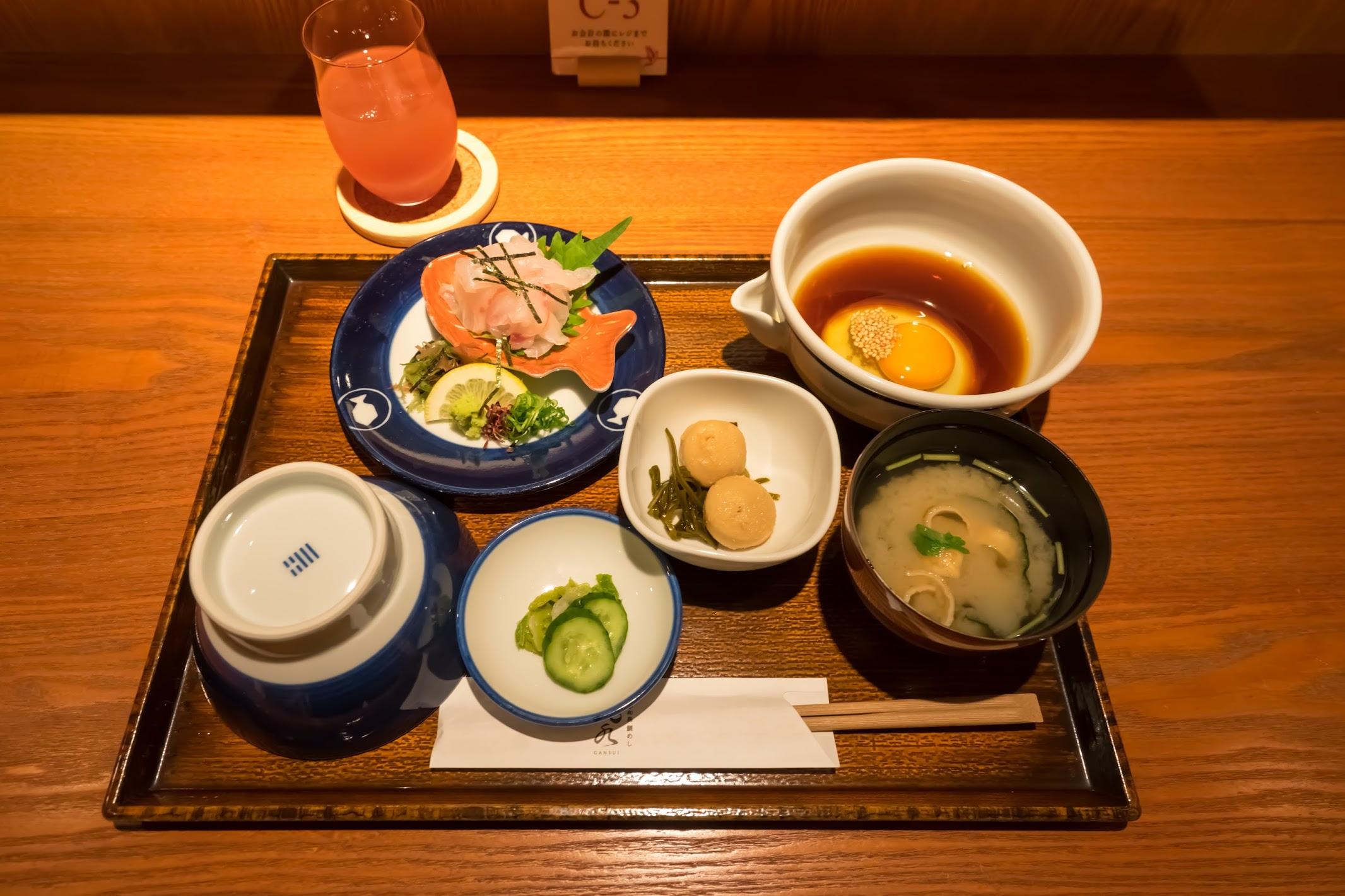 Gansui Uwajima Tai Meshi (sea bram rice)1