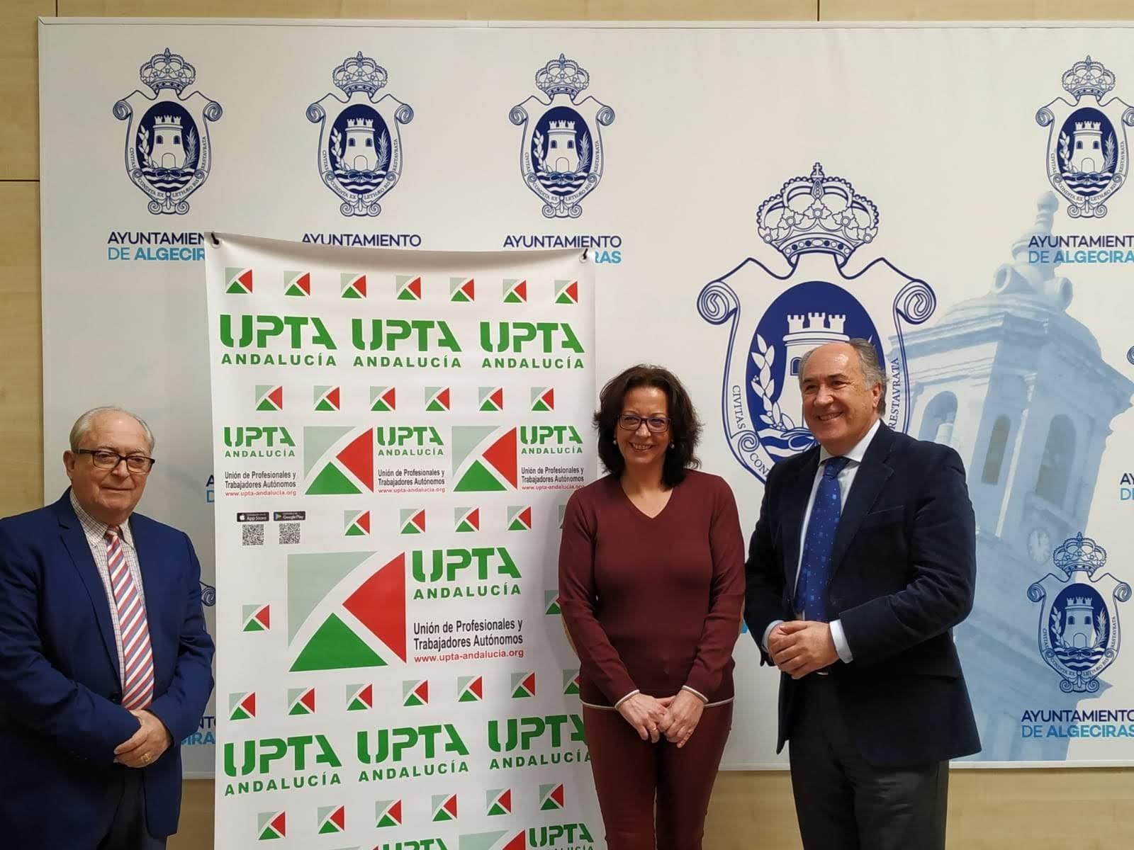 Ayuntamiento y UPTA firman un acuerdo para el fomento de los autónomos