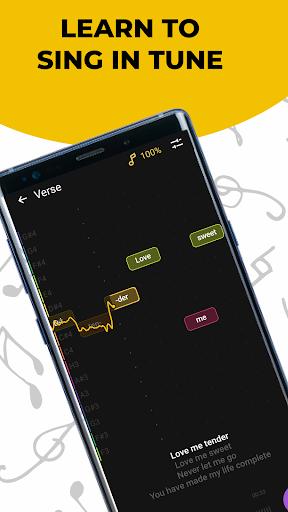 Singing app Vocaberry. Vocal training. Karaoke Apk 1