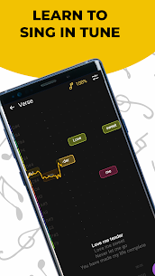 Singing app Vocaberry Mod Apk Vocal training. Karaoke (Unlocked) 1