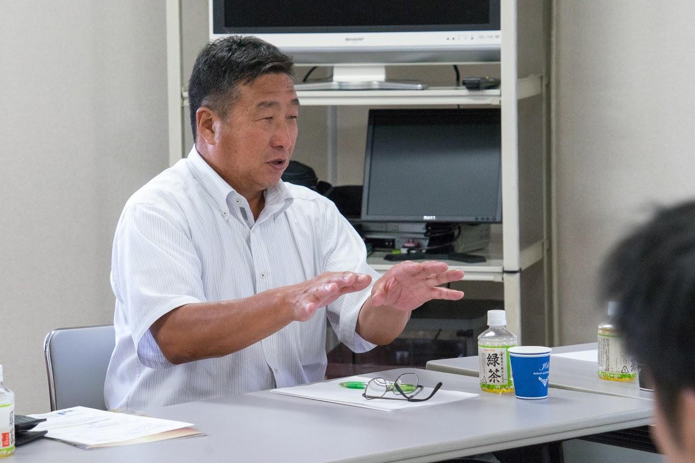 北竜町畑作生産組合・藤井二郎 組合長