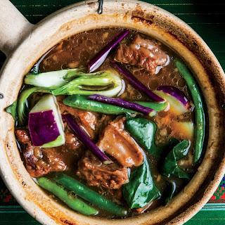Pork, Vegetable, and Tamarind Stew.