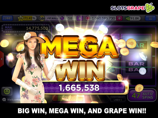 SLOTS GRAPE - Free Slots and Table Games download 1