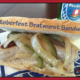 Octoberfest Bratwurst Sandwich Recipe