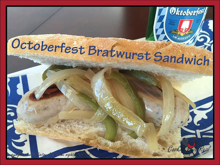 Octoberfest Bratwurst Sandwich