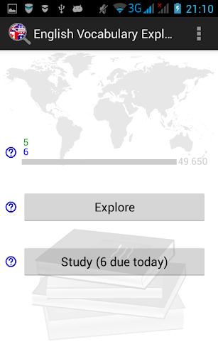 English Vocabulary Explorer