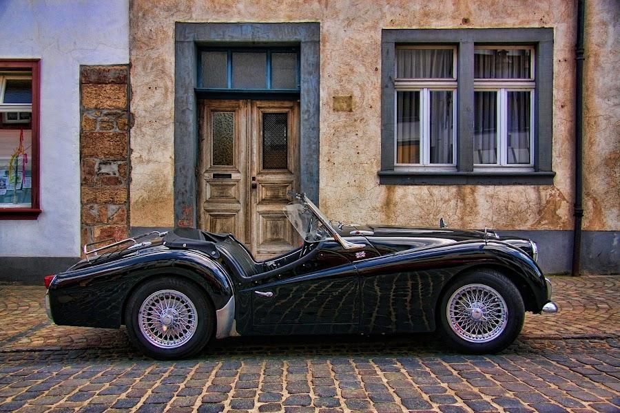 Triumph TR 3 by Axel K. Böttcher - Transportation Automobiles (  )