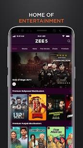 ZEE5 MOD APK 20.0.18.0 (Premium) 3