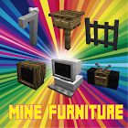 Mine- Furniture 2018 Addons MCPE icon