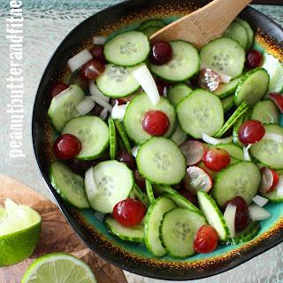 Cucumber Grape Salad