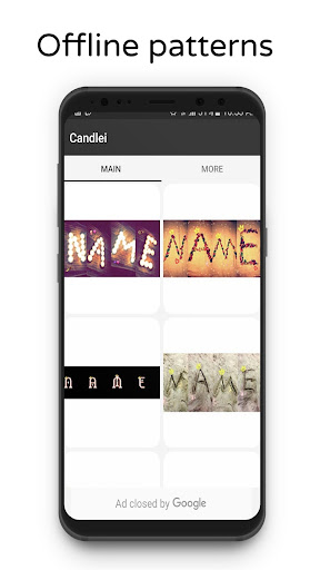 Photo Designer - Write your name with shapes 5 Screenshots 2