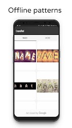 Photo Designer - Write your name with shapes APK screenshot thumbnail 2