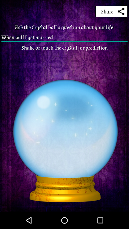 Crystal Ball - Reveal The Truth By Fortune Telling – (Android Apps