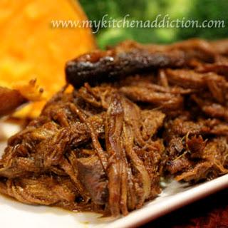 BBQ Shredded Beef.