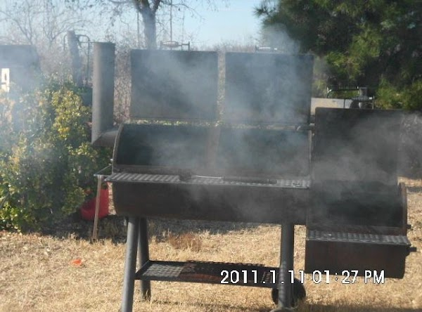 Grill or smoke your pork as you normally would.  We normally cook and...