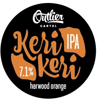 Logo of Outlier Cartel Kerikeri 'Harwood Orange' Late Summer Edition