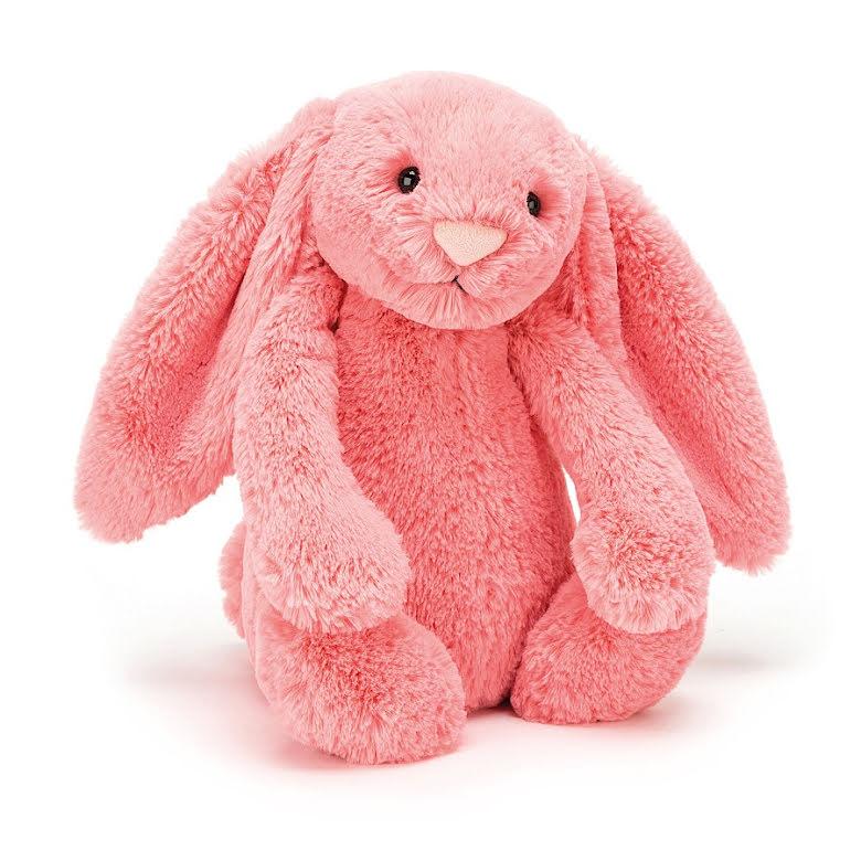 JellyCat Bashful Coral Bunny