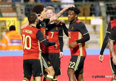 La Belgique confirme son statut de n°1 au classement FIFA face à l'Italie (3-1)