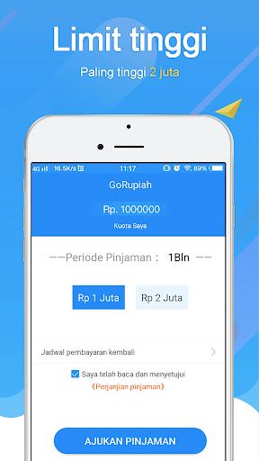 GoRupiah-Pinjaman Dana Uang  screenshots 4