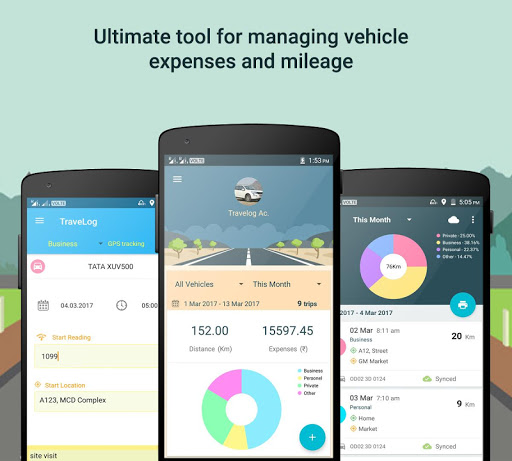 Travelog - Vehicle Log Manager screenshot