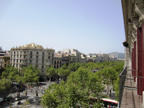 Photo: Other view of Passeig de Gracia