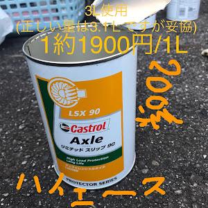 ハイエース TRH200Vのカスタム事例画像 TABAKOSUKIさんの2019年10月06日12:25の投稿