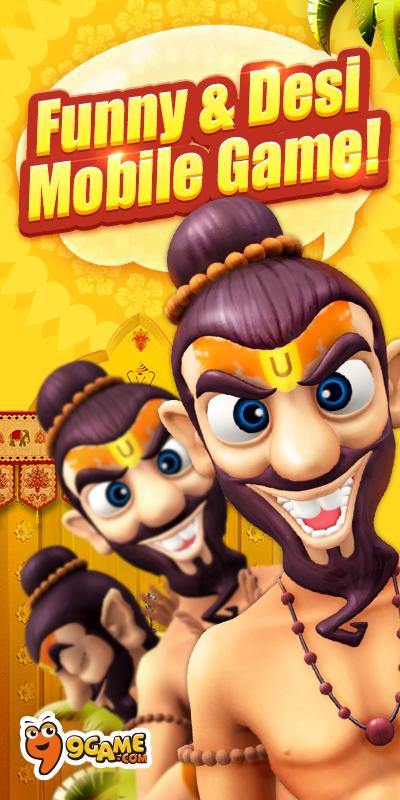 Screenshots of My Talking Babaji-Talking Game for iPhone