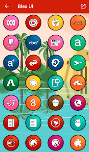 Blex UI - Icon Pack Screenshot