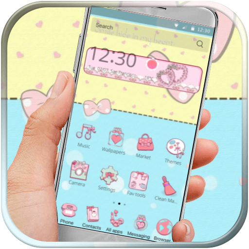Bowknot Kawaii Kitty Pink - Apps on Google Play