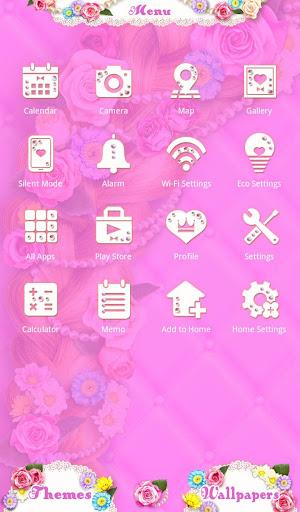 Cute Theme-Flowery Princess- 1.0.0 Windows u7528 2