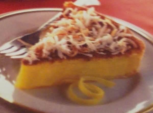 Lemon & Toasted Coconut Tart