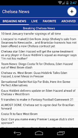 Latest Chelsea News & Transfer 5.6 screenshot 978516