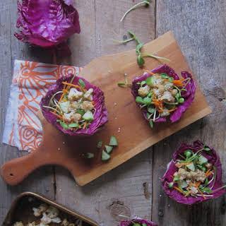 Hoisen + Lime Roasted Cauliflower Tacos.