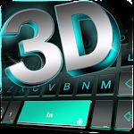 Neon 3d Black Keyboard Theme Icon