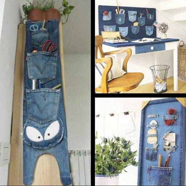 Diy recycled jeans ideas android apps on google play Diy home decor ideas app