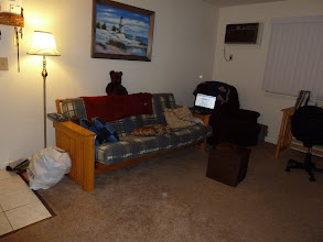 Photo: Living room from near the hallway