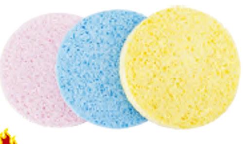 esponja marcela  facial exfoliante