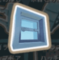 強化ガラスの窓