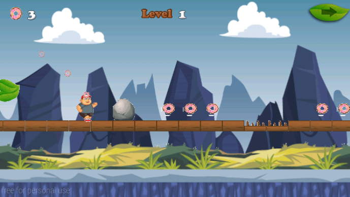 android Big Hungry Boy Jump Screenshot 3