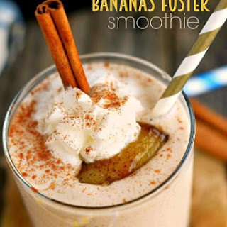 Bananas Foster Smoothie.