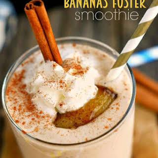 Bananas Foster Smoothie.