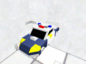 USA police pursuit car
