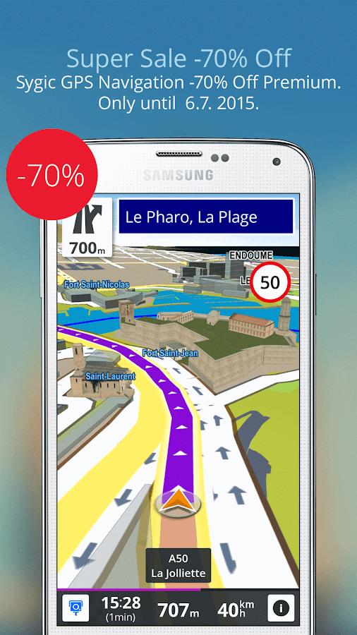 GPS Navigation & Maps Sygic - screenshot