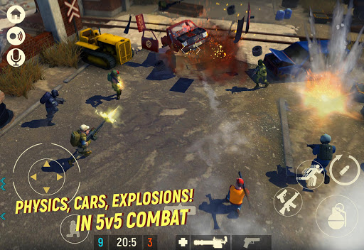 Tacticool - 5v5 shooter androidiapk screenshots 1